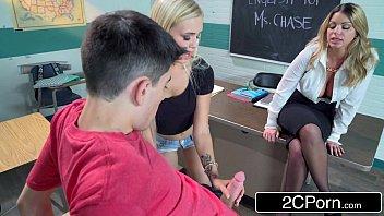 horny teacher after class fuck-fest - brooklyn chase,.
