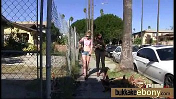 interracial bukkake girl gangbang 30