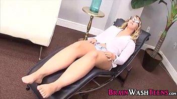 good girl chase slave training session - brainwashing 95