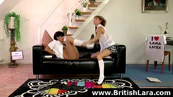british milf watches teen lesbians fuck.