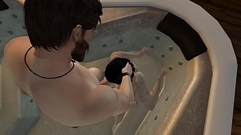 second life - jade doet - hot tub.