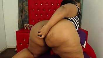 exotic ebony bbw with a huge black bouncing.