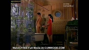 cumwood.com - girl helps young boy in the shower