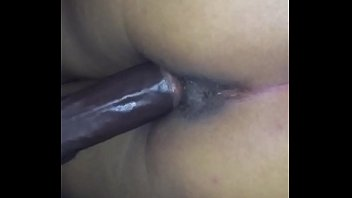 sexy latin loves taking black cock from the back!!