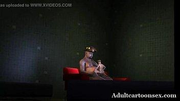 3d firefighter midget fucking his chubby bear lover boy