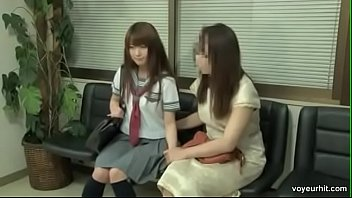japanese school girl with doctor more video go.