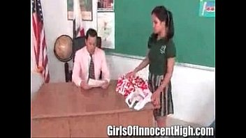 cute asian cheerleader fucked and facialized by the.