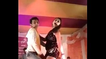 sexy hot desi teen dancing on stage in.