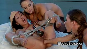 shackled wired babe ass fisted by.