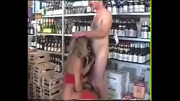 best german mom pissing in wine shop. see.