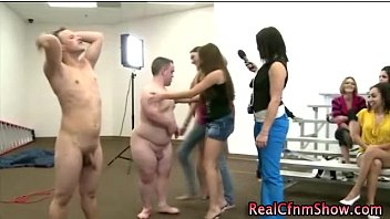 cfnm amateur femdoms humiliate pathetic guys