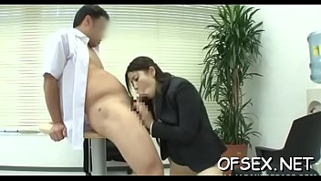 strict boss punishes her hawt worker by titillating her