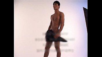 sexy asain china muscle boy model.