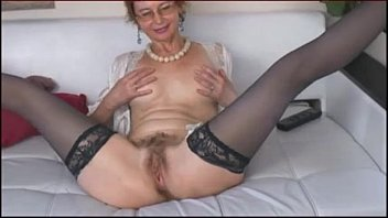 older woman with hairy pussy - more on mygopropussy.com