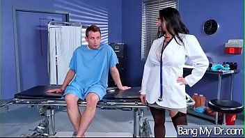 (ava addams) horny patient get hard sex from.