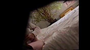 true hidden cam. watch my mum masturbating on bed
