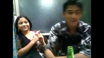 horny bagladeshi girl kiss with her.