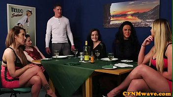 british cfnm milfs humiliated lucky guy