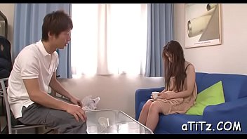 asian honey with huge hooters enjoys.