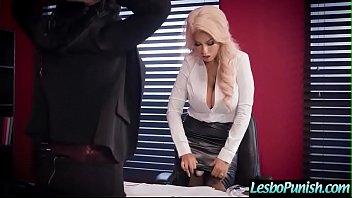 hardcore punish sex play with sexy lesbos (kristina.