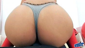 huge ass latina has big tits and puffy.