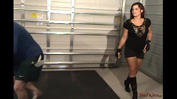 bully in black - mikaela and her dangerous fists