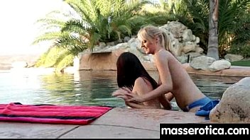 sensual oil massage turns to hot lesbian action 13