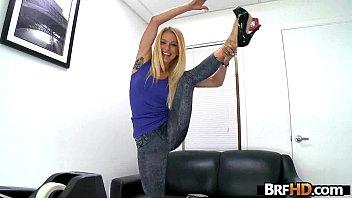 amateur blonde cameron canada gets her.