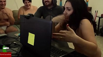 hot couple playing sex games on webcam.