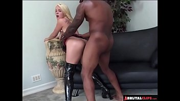 brutalclips - blondie gets an anal.