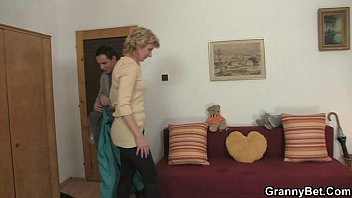 he gets lucky with old woman