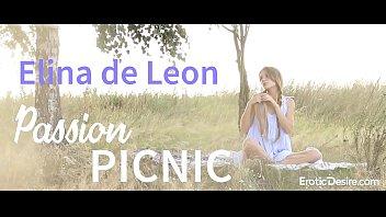 elina de leon - passion picnic. visit eroticdesire.com.