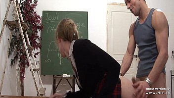 naughty french teacher hard sodomized and fist fucked.