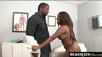 big booty ebony candice nicole examined by her.