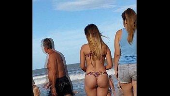 culo hermoso playa argentina