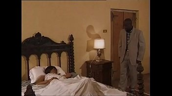 black couple doggystyle fucking at home