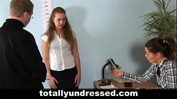 hardcore job interview for sexy redhead.