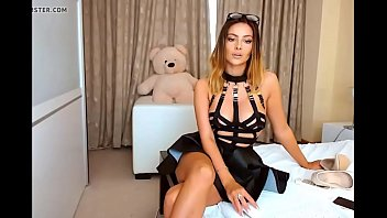 gorgeous cam model teases on webcam.