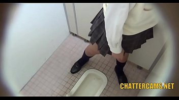 pissing asian teen masturbation toilet spycam