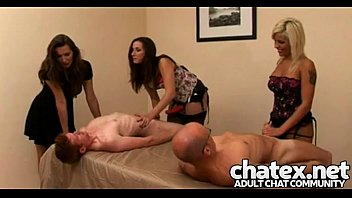humiliation handjob cfnm hot