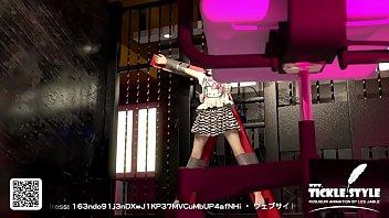 3d anime girl waist tickle torture
