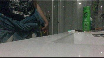 18 yo girl caught on hidden bathroom cam,.