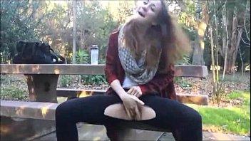 cute girl squirts outdoors - hotcamgirls247.com