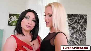 euro xxx sex party -one hot foursome with.