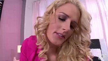 super tall blonde sucks her husband like a hoover