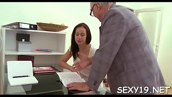 sweetheart is getting her twat ravished by teacher.