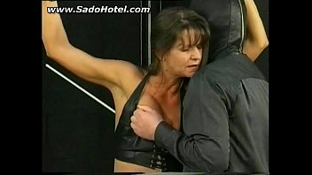 bdsm session with hot mature slave.