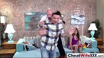 sex tape with sluty cheating horny wife (riley.