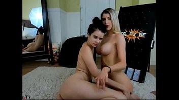 hot lesbians strapon show (part 2)