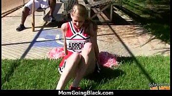 white horny mom in interracial hard.